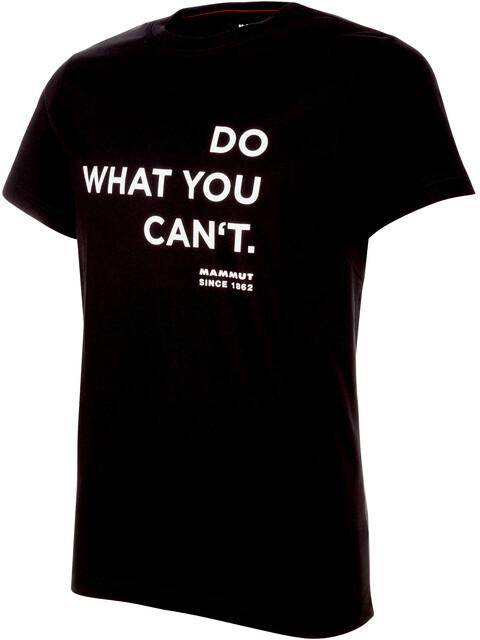 Mammut Seile T-Shirt Men black